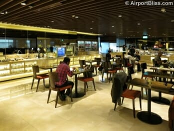 Singapore Airlines First Class Lounge - Singapore (SIN) Terminal 2
