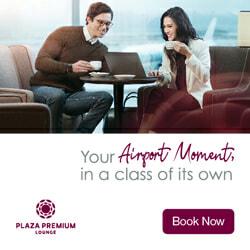 Book now with Plaza Premium