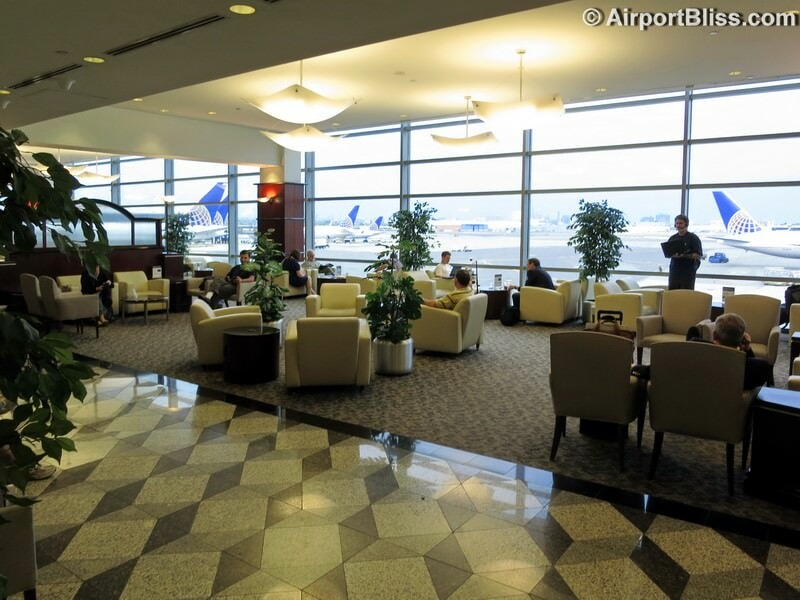The former United Club at Newark (EWR) Concourse C near gate C120