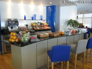 British Airways Terraces Lounge - Seattle-Tacoma (SEA)