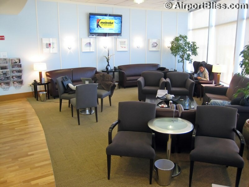British Airways First Class Lounge - Seattle-Tacoma (SEA)