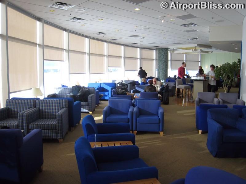 British Airways Terraces Lounge - Seattle-Tacoma (SEA)