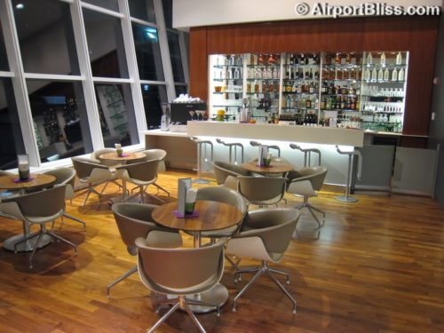 Lufthansa Senator Lounge at New York JFK