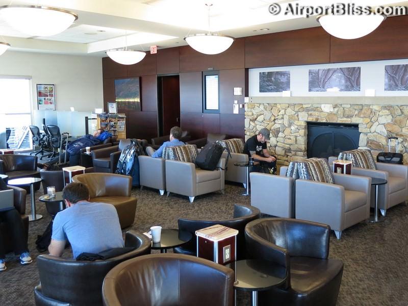 Alaska Lounge - Seattle-Tacoma (SEA) Concourse D
