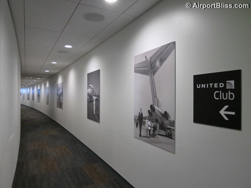 SFO united club sfo t3e closed 2939