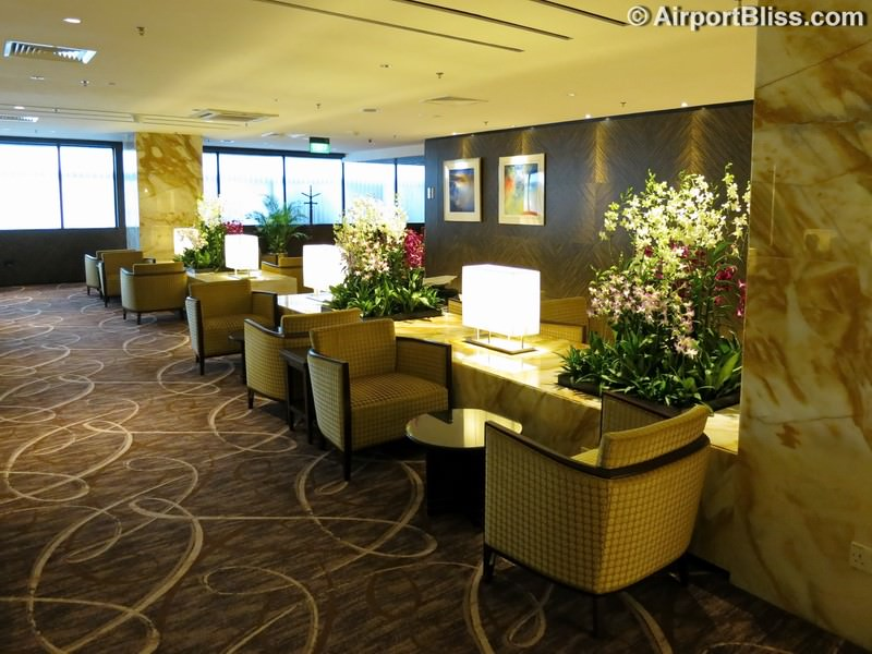 SIN singapore airlines first class lounge sin t2 3713
