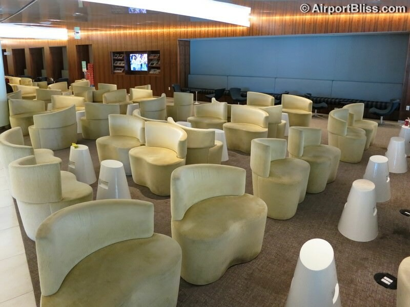 LAX korean air kal business class lounge lax 6966