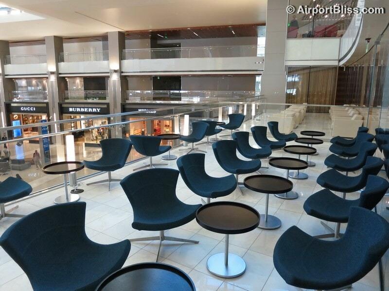 LAX korean air kal business class lounge lax 6979