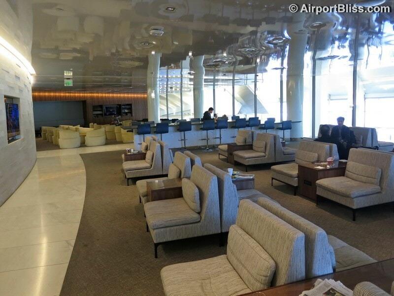 LAX korean air kal business class lounge lax 7025