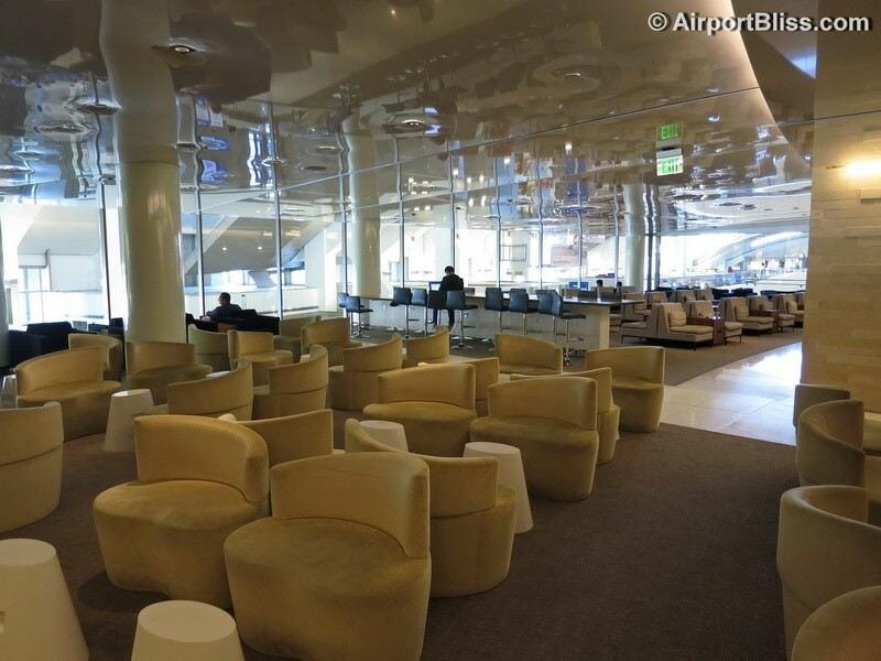 LAX korean air kal business class lounge lax 7048