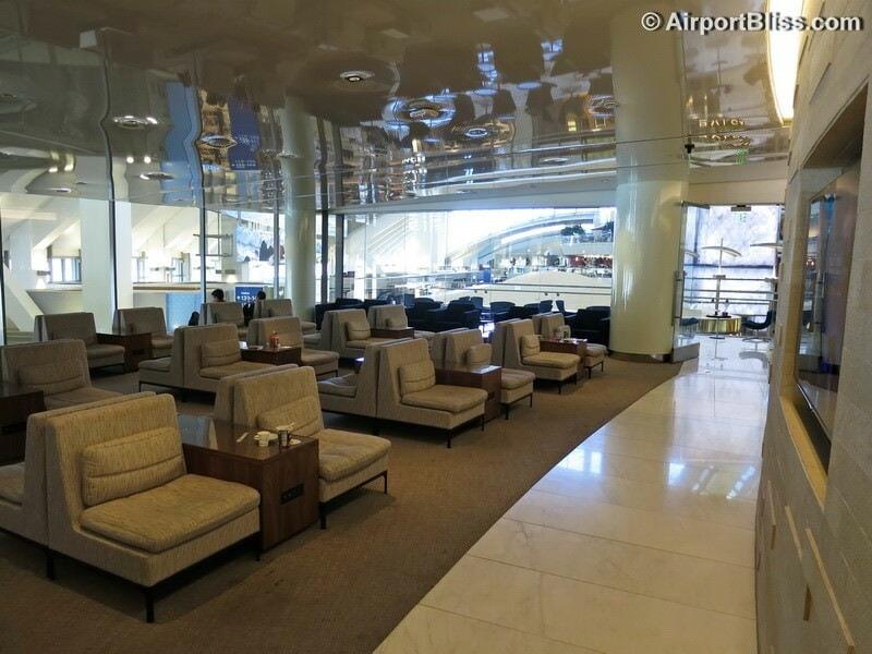 LAX korean air kal business class lounge lax 7050