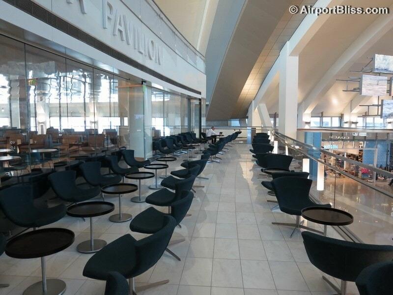 LAX korean air kal business class lounge lax 7054
