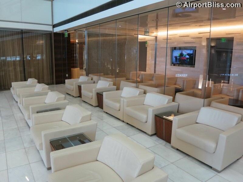 LAX korean air kal first class lounge lax 6981