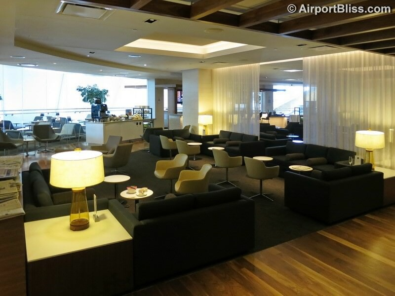 LAX star alliance business class lounge lax 7326
