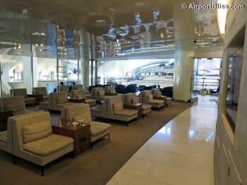 Korean Air KAL Business Class Lounge - Los Angeles, CA (LAX)
