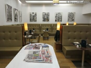 British Airways Arrivals Lounge - London Heathrow (LHR) Terminal 5