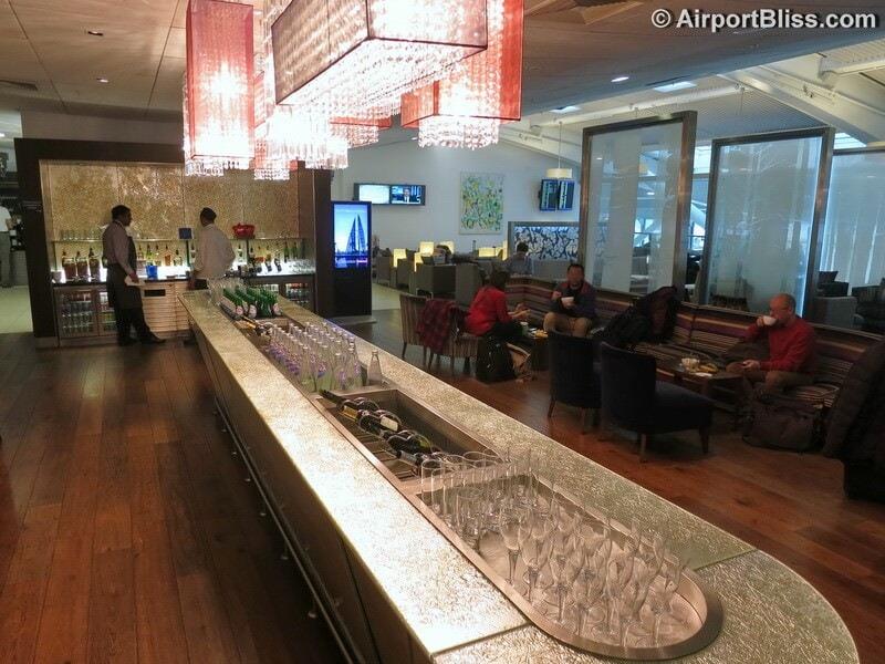 British Airways Galleries Lounge - London Heathrow