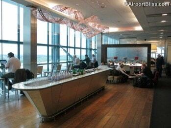 British Airways Galleries Club North - London Heathrow (LHR) Terminal 5