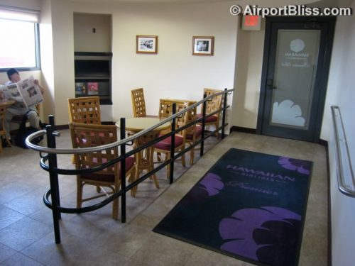 Hawaiian Airlines Premier Club at Hilo, HI (ITO)