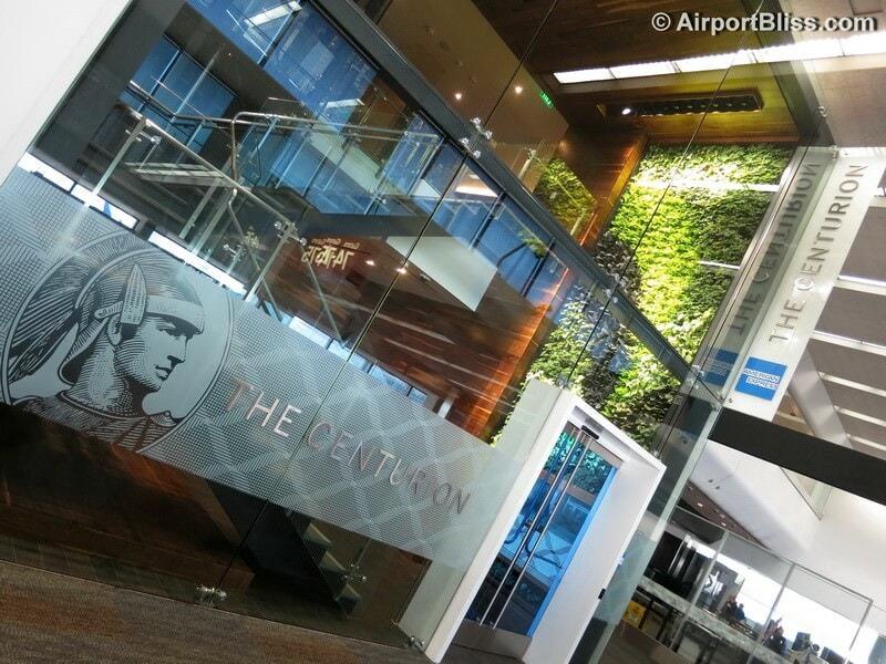 SFO american express the centurion lounge sfo 8500