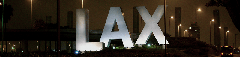 LAX sign, via Wikimedia commons