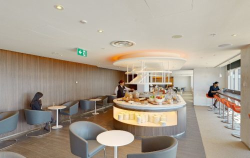 The new SkyTeam Exclusive Lounge at Sydney airport. © SkyTeam