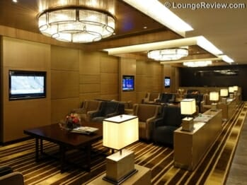 Plaza Premium Lounge East Hall - Hong Kong (HKG) by gate 1