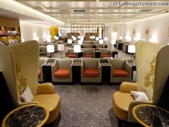 Singapore Airlines SilverKris Lounge - Hong Kong (HKG)