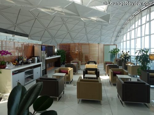 THAI Royal First Lounge - Hong Kong airport (HKG)