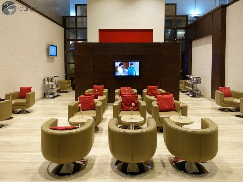Marhaba Lounge - Dubai International (DXB) Terminal 1C, a Priority Pass lounge
