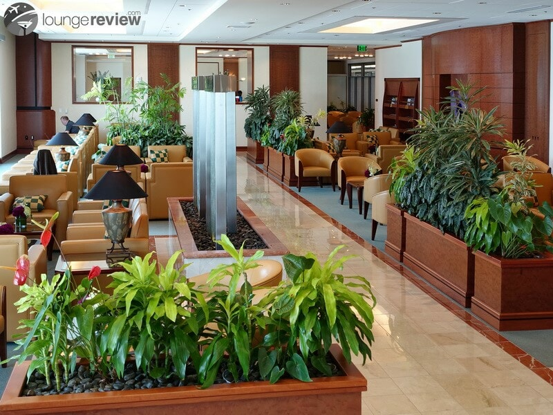 The Emirates Lounge - San Francisco, CA (SFO)