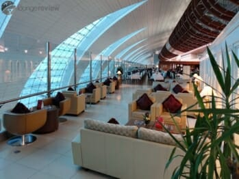Emirates First Class Lounge - Dubai International (DXB) Terminal 3 Concourse B