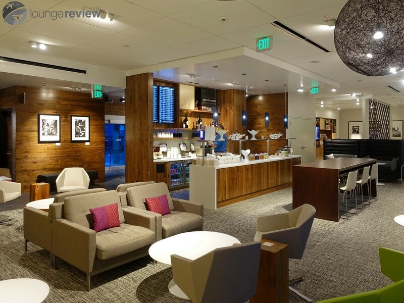 Lounge Review American Express The Centurion Lounge Sea