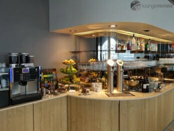Lufthansa Business Lounge - Hamburg, Germany (HAM)