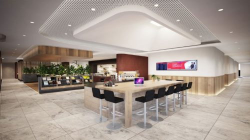 Qantas Domestic Business Lounge - Perth (PER) - © Copyright Qantas