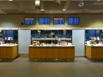 Lufthansa Business Lounge - Frankfurt (FRA) by gate B24 (Non-Schengen)
