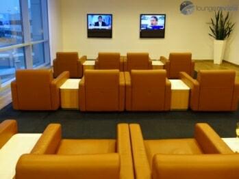 Lufthansa Senator Lounge - Frankfurt (FRA) by gate B43 (Non-Schengen)