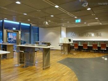 Lufthansa Business Lounge - Frankfurt (FRA) by gate B44 (Non-Schengen)