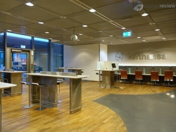Lufthansa Business Lounge - Frankfurt (FRA) by gate B44 (Non-Schengen)