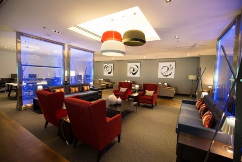 The British Airways Lounge - Singapore (SIN) - © Copyright British Airways