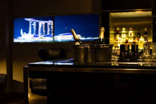 The Concorde Bar - Singapore (SIN) - © Copyright British Airways