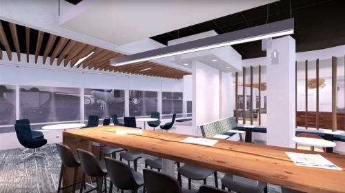 Alaska Airlines' new Board Room - Seattle-Tacoma (SEA) |© Alaska Airlines