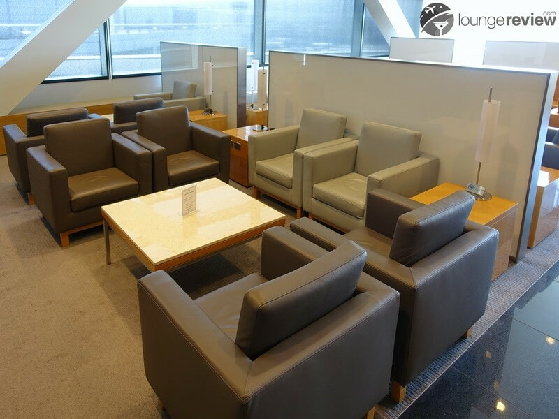 SFO cathay pacific first and business class lounge sfo 09811
