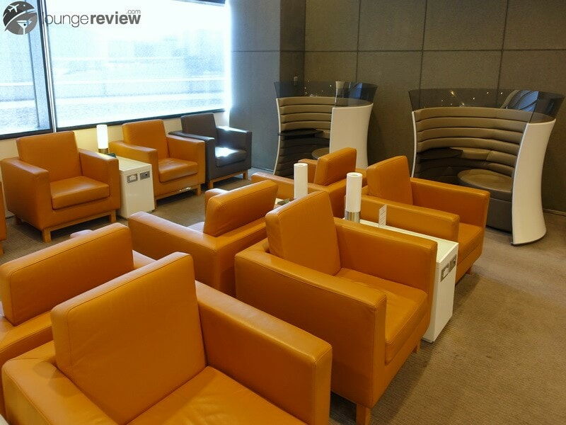 SFO cathay pacific first and business class lounge sfo 09843
