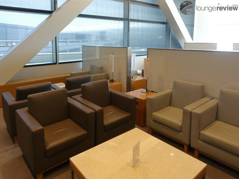 SFO cathay pacific first and business class lounge sfo 09870