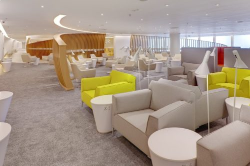 SkyTeam Exclusive Lounge - Hong Kong (HKG) © Copyright SkyTeam