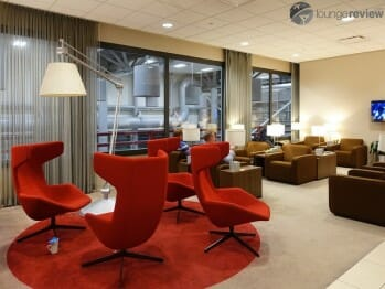 KLM Crown Lounge - Houston Intercontinental (IAH)