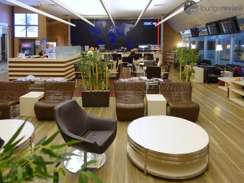 HSBC Club Lounge - Istanbul Ataturk (IST), a Priority Pass lounge