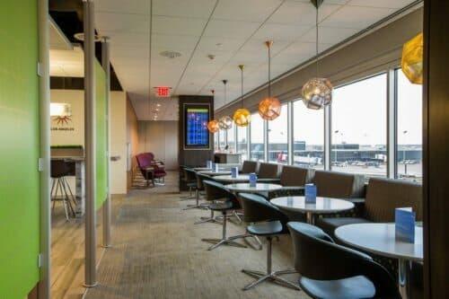 The Escape Lounge - Minneapolis-St. Paul (MSP). Photo courtesy of MAG USA