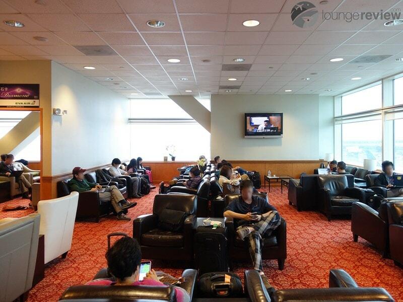SFO eva air evergreen lounge sfo 05058